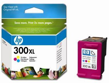 HP Cartuccia Originale 300xl Color Cod. CC644EE