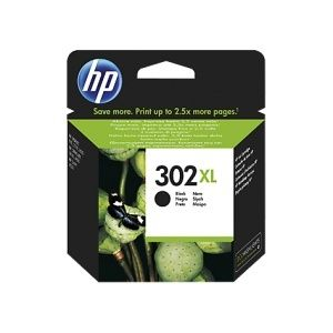 HP Cartuccia Originale 302 XL Black Cod. F6U68AE