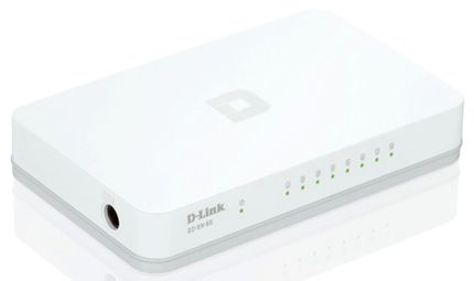 Switch Hub 8 Porte Gigabit Ethernet D-Link Go-sw-8G