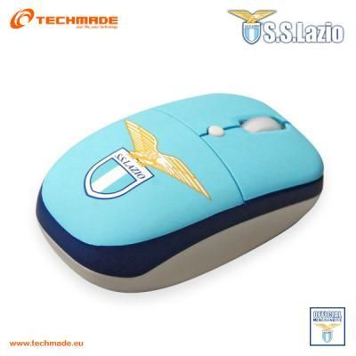 S.S. Lazio Mini Mouse Wireless Optical USB