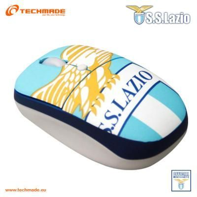 S.S. Lazio Mini Mouse Fan Click Button Optical USB