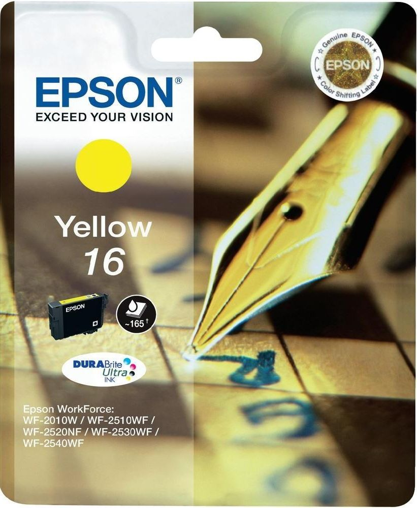 Epson 16 Giallo Originale