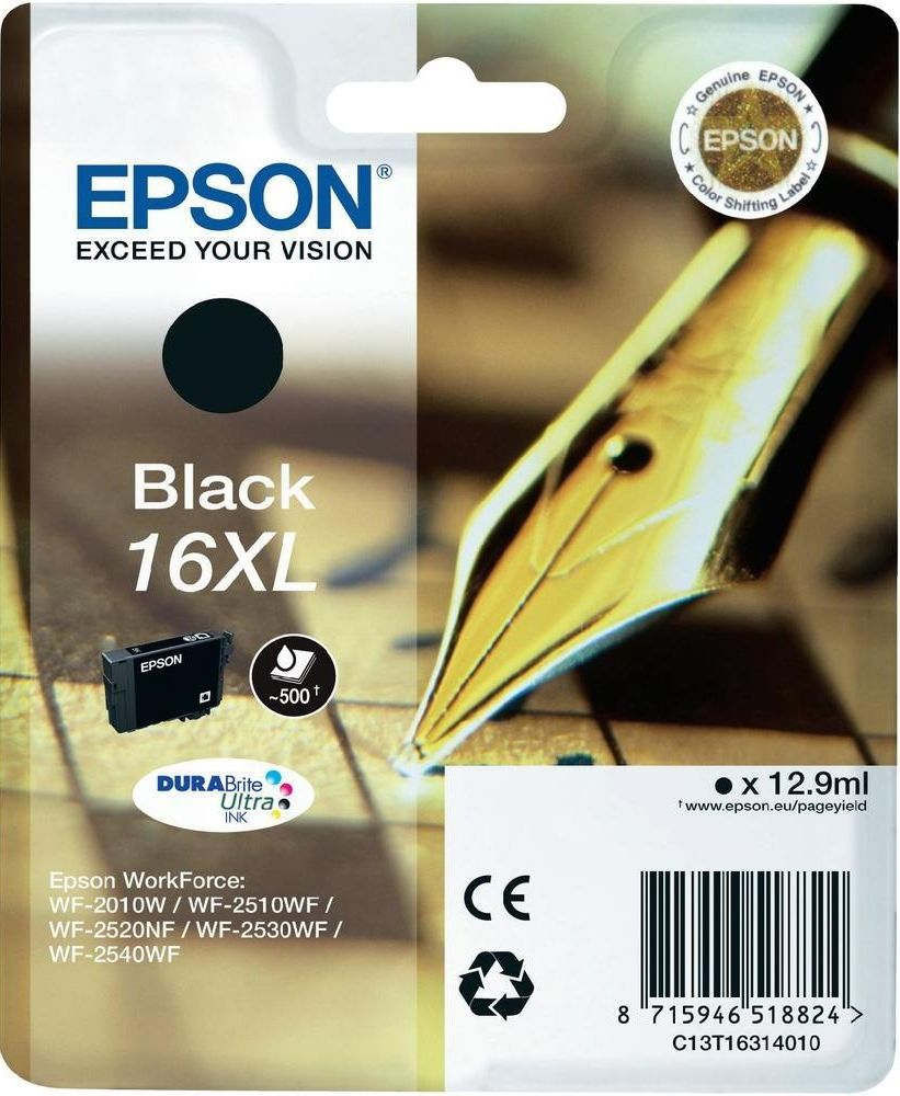 Epson 16xl Nero Originale 12,9Ml