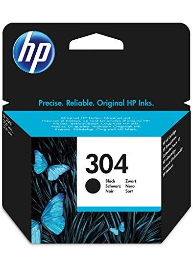 HP Cartuccia Originale 304 Black Cod. N9K06AE