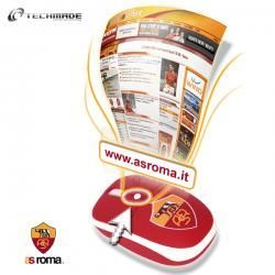 AS Roma Mini Mouse Fan Click Button Optical USB