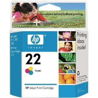 HP Cartuccia Originale 22 Color cod. C9352AE