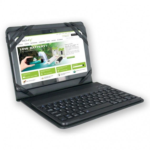 Cover con Tastiera Bluetooth 3.0 x Tablet 9,7' e 10,1' ICBT1001