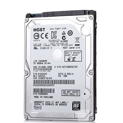 2,5 HDD Sata-3 500GB HGST 5400rpm