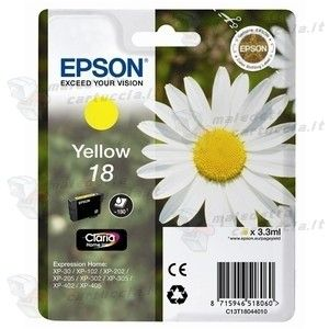 Epson 18 Giallo Originale