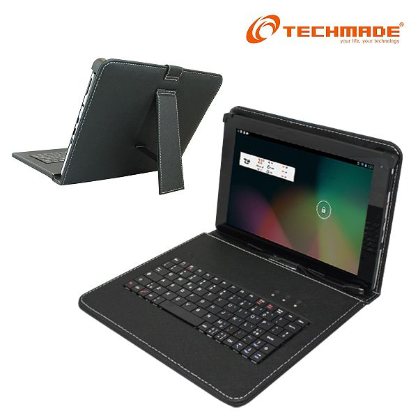Cover con Tastiera x Tablet 10' Techmade PK-10x