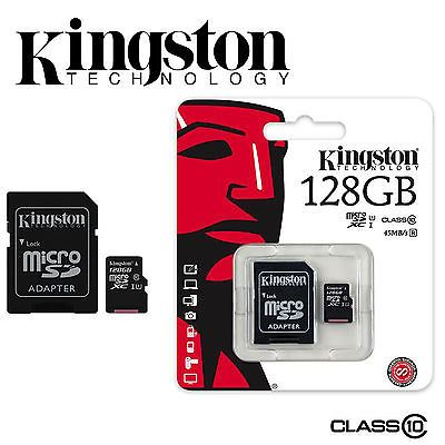Micro Secure Digital 128GB Class 10 Kingston + SD Adaptor