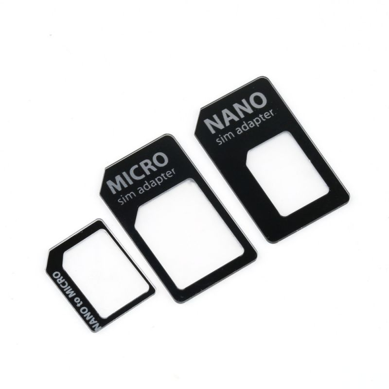 Adattatore per Micro SIM Card kit 3in1