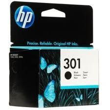 HP Cartuccia Originale 301 Black Cod. CH561EE