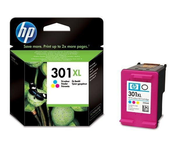 HP Cartuccia Originale 301XL Color Cod. CH564EE