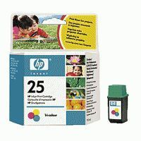 HP Cartuccia Originale 25 Color cod. 51625a