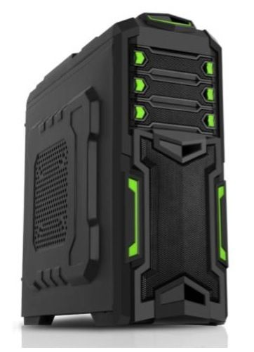 Case Middle Tower ATX Itek Destroyer Gaming Usb 3.0 - No Aliment.