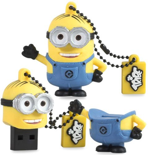 _Pen Drive 8GB USB 2.0 Cartoni Animati (Minuins,Topolino,Simpson,Puffi...etc)