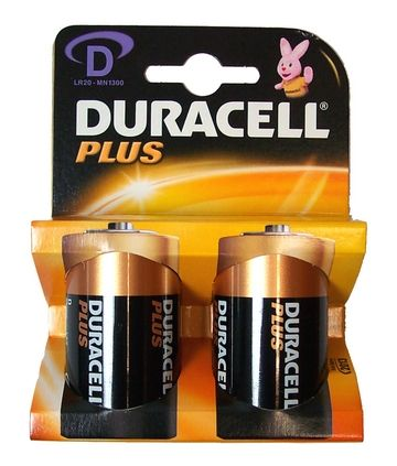 Batteria Alkalina Torcione 2pz High Power Duracell