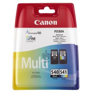 CANON Multipack PG 540 - CL 541 Nero e Colore Originale