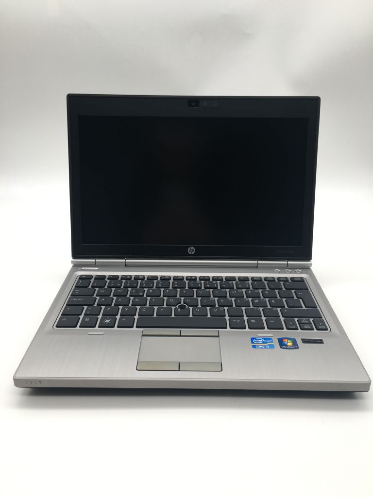 HP EliteBook 2560P 12,5' - I5 M2520m 2,56Ghz (Up3,2Ghz) -  8GB -  SSD 120gb - W7Pro (Upg.Win10) - Refurbished Gar@12M GRADO A
