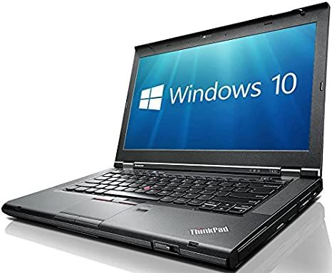 Lenovo ThinkPad T430 14' - I5 3350M 2,6Mhz -  4GB -  180SSD -  W10Pro (Upgrade) - Refurbished Gar@12M GRADO A-