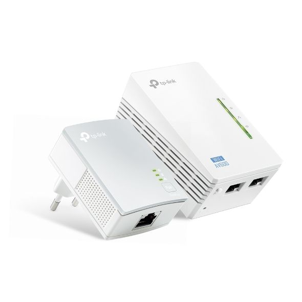 PowerLine Ethernet + WiFi 600Mbps Starter Kit TP-Link TL-WPA4220Kit
