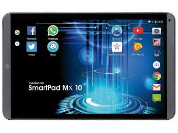 Tablet 10' Mediacom Smart PAd M-SP10mxha 4G + Phone Quad Core 1.1Ghz - Android 6.0 KitKat - 16Gb - Tft 7' (1280x800) - Dual Fotocamera - WiFi - 4G