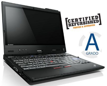 Notebook Lenovo ThinkPad X220 12,5' Lcd - Intel Core i5-2540 m. (2.6 GHz)  - 4gb Ram - 320Gb Hdd - Win 7 Pro - Refurbished grado A